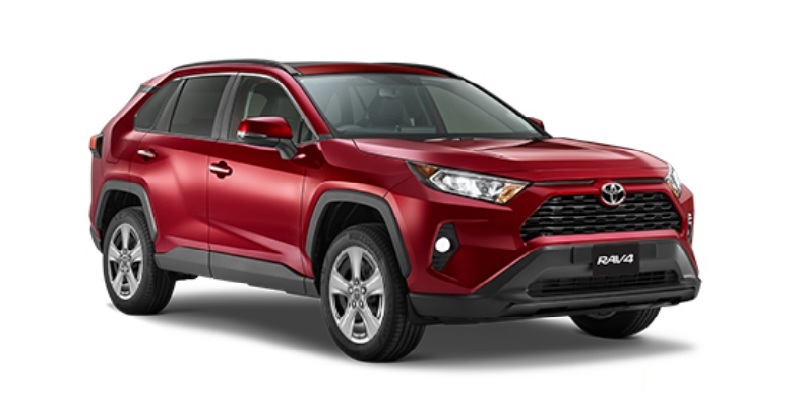 Toyota RAV4 from USD$24,000 Delivered (FOB)