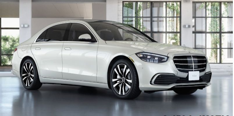 Mercedes S Class from USD$120,000 Delivered (FOB)